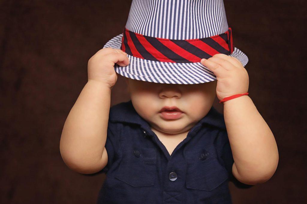 toddler poop hat