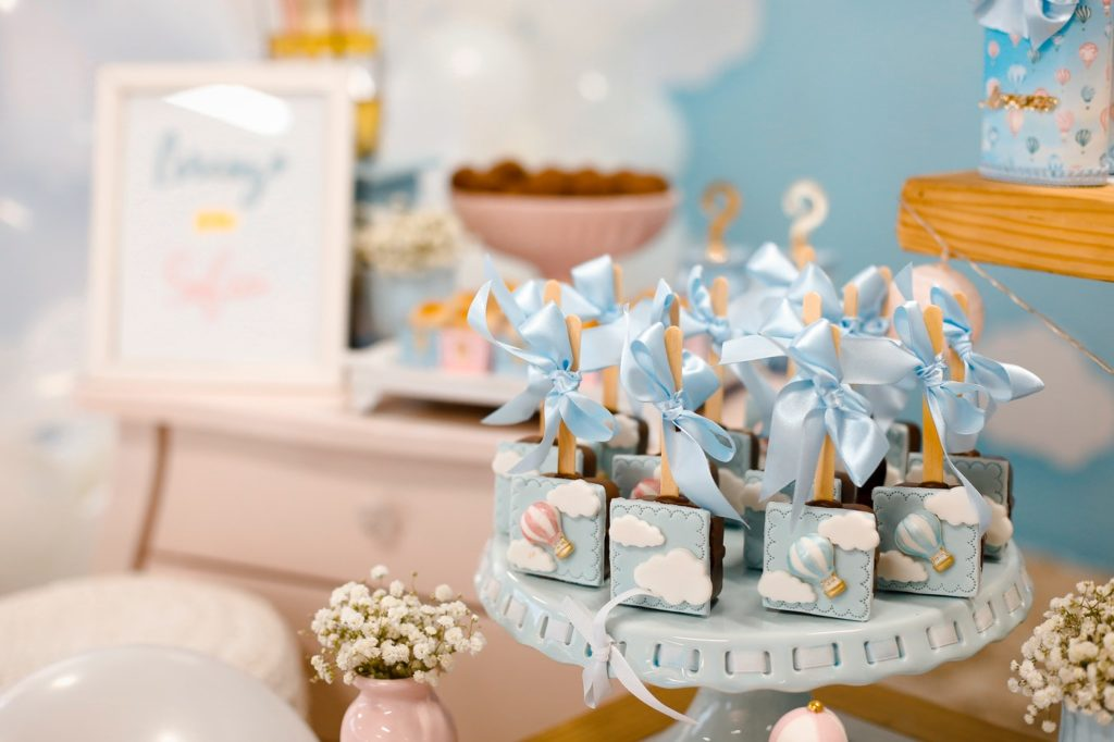 baby shower ideas blue gifts