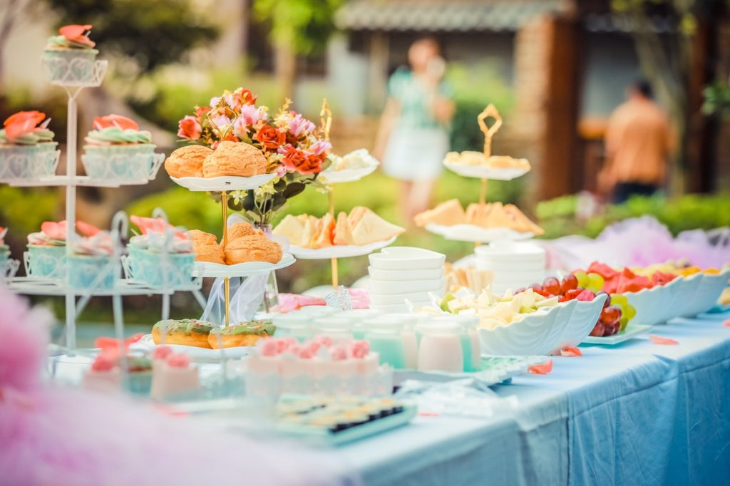 baby shower ideas table